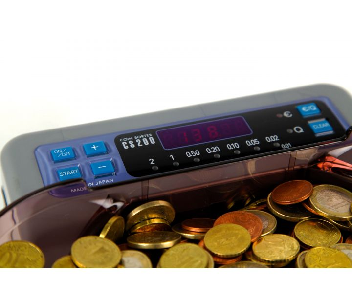 CS200 Euro Coin Counting and Sorting Machine | Money Point